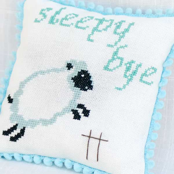 Sleepy Bye Herbal Sleep Pillow in Blue or Pink (14cm by 15cm) - Sometimes babies don't sleep, not peacefully anyway. Sometimes they are not tired or maybe they are too tired. Either way, sleep doesn't come for them… or for you.   This Mini Pillow contains a wonderful mix of fragrant organic lavender and chamomile – suitable for adults, children and babies. It also makes a wonderful baby shower gift or a special little something for a new arrival.