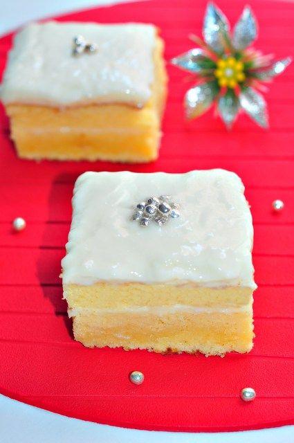 Labneli Kremalı Kek