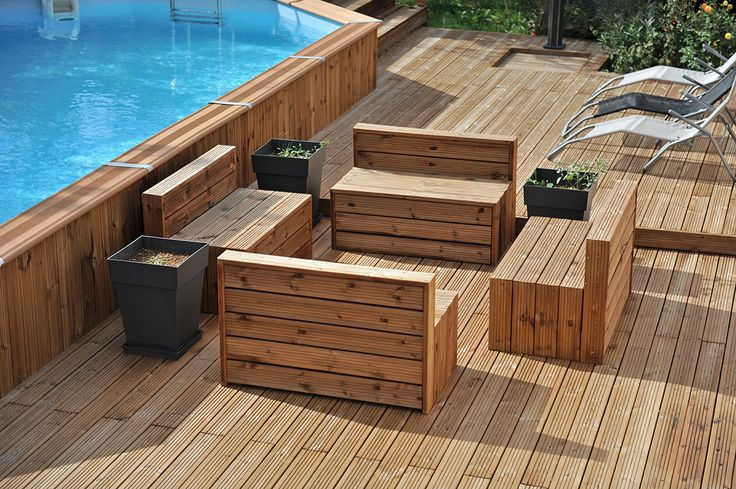 lames terrasse bois traite classe 4 diverses id es de conception de patio en bois. Black Bedroom Furniture Sets. Home Design Ideas