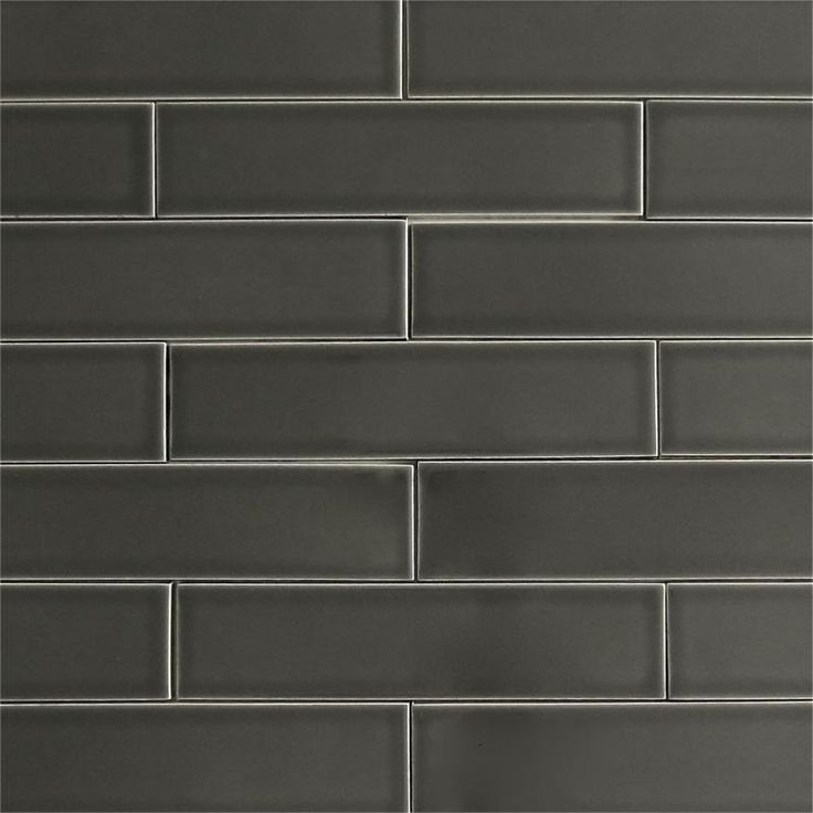 Grey Kitchen Subway Tile: Modwalls USA Made 2x8 Ceramic Subway Tile In Gray Color