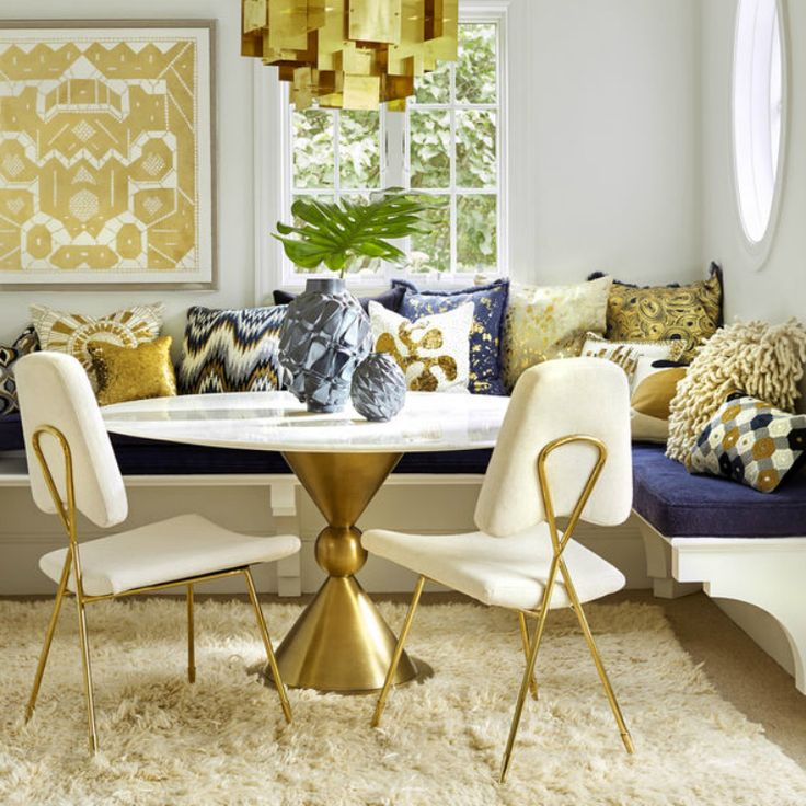 17 Best Ideas About Modern Kitchen Tables On Pinterest: 17 Best Ideas About Gold Dining Rooms On Pinterest