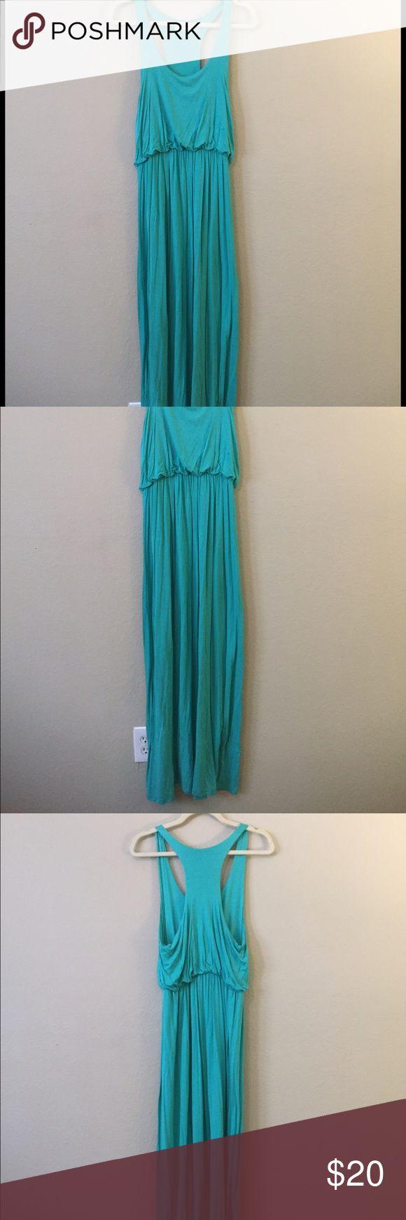 Aqua tank maxi dress Aqua tank maxi dress Lush Dresses Maxi