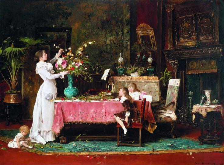 Михай Мункачи «День рождения отца» 1882