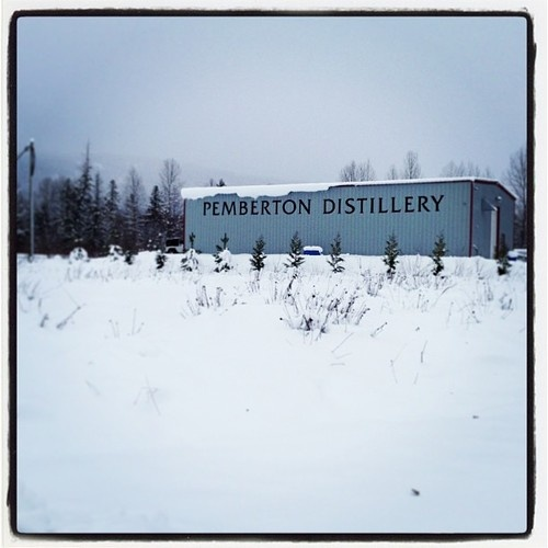 Feeling pretty Xmasy around here!   (at Pemberton Distillery)