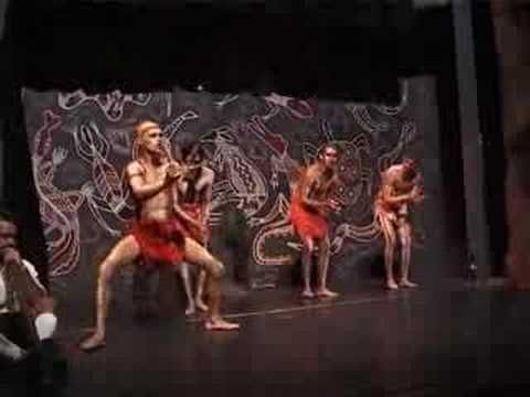 Traditional aboriginal music and dance