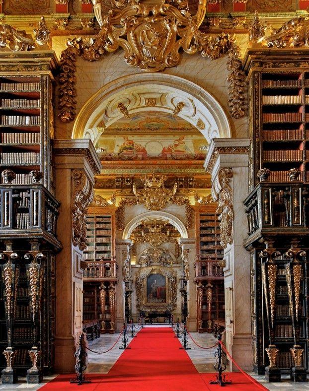 Biblioteca Joanina, Universide de Coimbra, Coimbra - Portugal