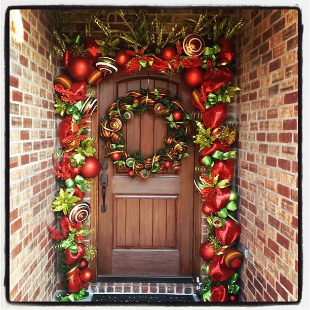 Christmas Decorations Garland Ideas: Best 25+ Deco Mesh Garland Ideas On Pinterest