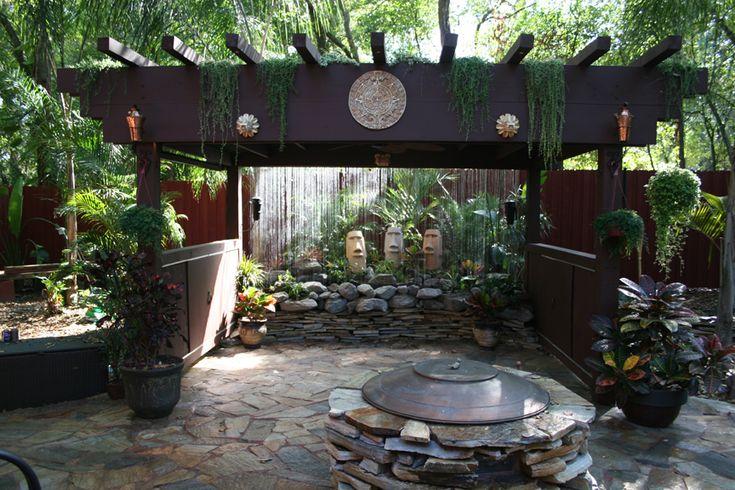 Garden Pergola Curtains