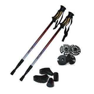 Trekingové palice WORKER Treking sú moderné trekingové palice z veľmi ľahkého hliníkového profilu s lesklým dvojvrstvovým lakovaním vhodná pre všetky ročné obdobia. Palice sú vybavené systémom odpruženia Antishock System, ktorý možno jednoducho vypnúť. Súčasťou sady sú náhradné pätky pre chôdzu na rôznych typoch povrchov.Rukoväte sú vyrobené z nekĺzavého gumového gripu s drážkami pre odvod potu a navyše sú opatrené pútkami s nastaviteľnou dĺžkou fixujúcími ruku pri väčšom zábere.
