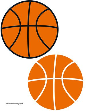 Basketballs.jpg www.amandakeyt.com Basketball photo booth props