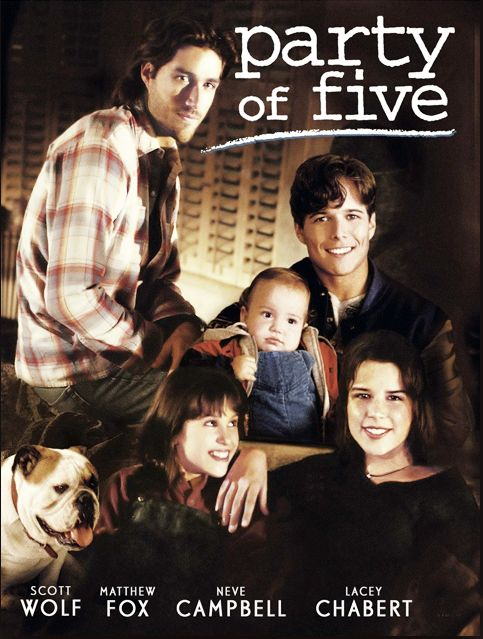 After their parents are killed by a drunk driver, the five orphaned Salinger kids (ages 11-24) must fend for themselves and continue running the family restaurant. That's the premise of this six-season drama series, which launched the careers of Matthew Fox, Scott Wolf, Neve Campbell and Jennifer Love Hewitt.