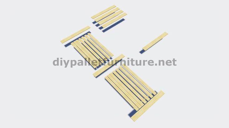 Instructions sur la façon de faire une porte coulissante avec palettes 3