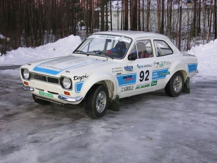 Ford Escort MKI RS2000 1974 Historic rally car  SOLD