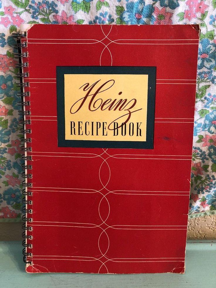 Vintage Heinz Recipe Book 1939 1930s 1940s Housewife WWII    eBay
