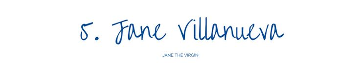 The Lone Reader: Part 2: My Five Favorite TV Heroines | Jane the Virgin | Jane Villanueva