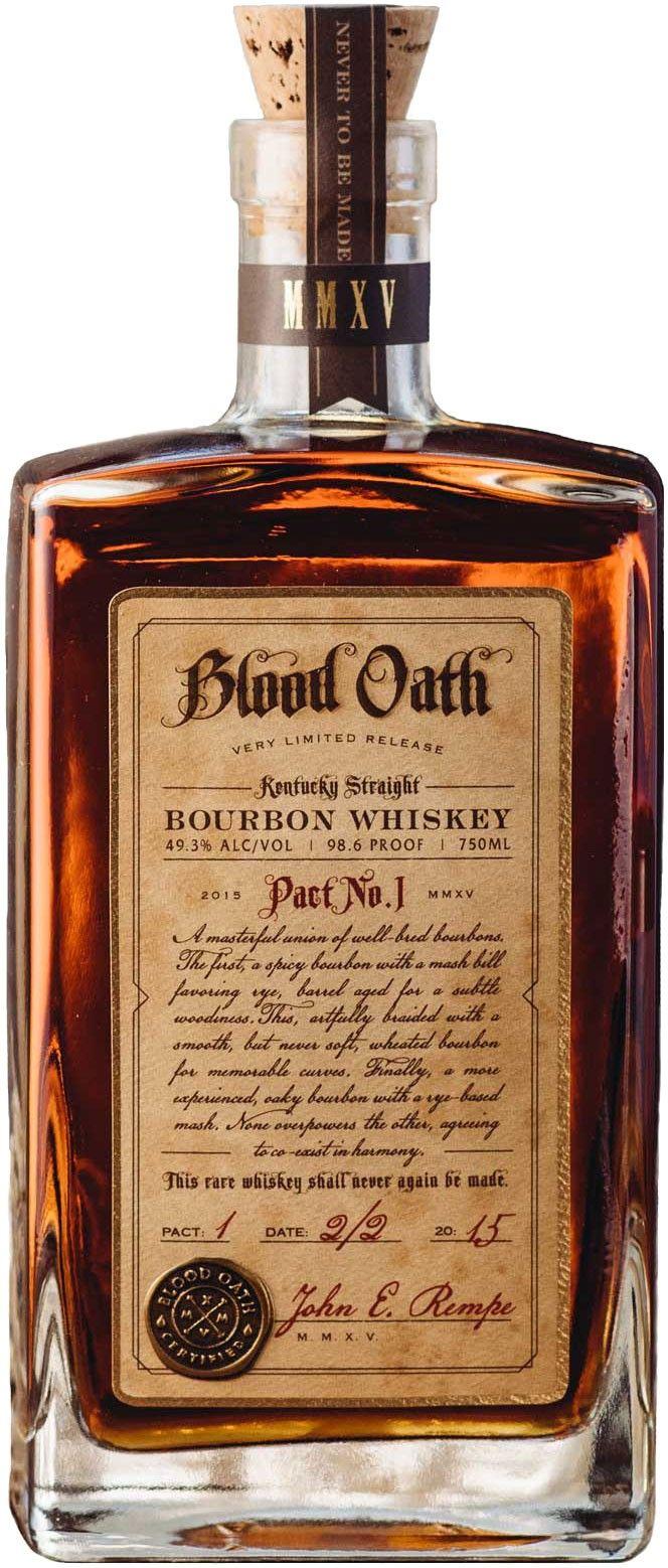 Blood Oath Kentucky Straight Bourbon Whiskey | @Caskers