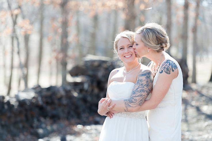 Romantické svatební fotografie párů stejného pohlaví