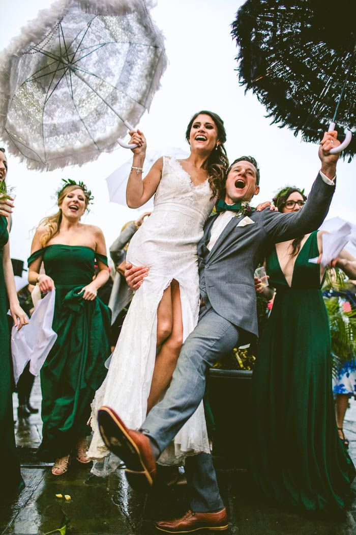 Partying it up in New Orleans! | Image by Carolyn Scott Photography