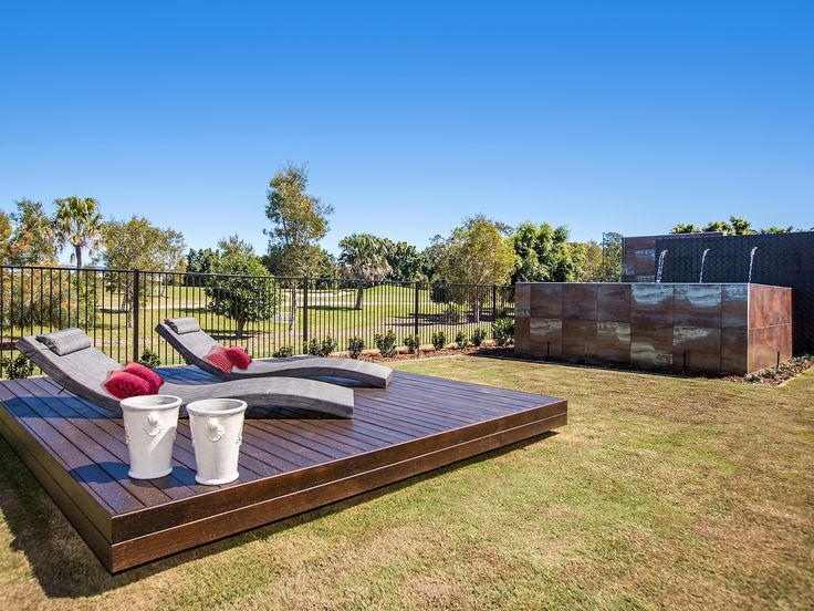 Villa on the Green - spa and sun deck - 2306 Vardon Lane, Sanctuary Cove, Queensland. Luxury holiday home for exclusive escapes. #holidays #luxuryhomes #holidayhomes #queenslandholiday #luxuryescapes #getaway