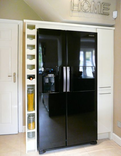 integrated fridge freezer kitchen unit - Google Search
