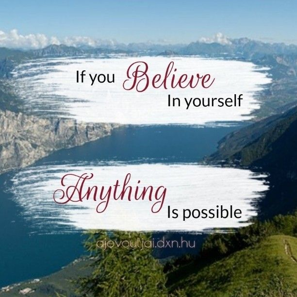 If you Believe in yourself Anything is possible  #life #believe #enjoy #lakegarda #DXN #believeinyourself