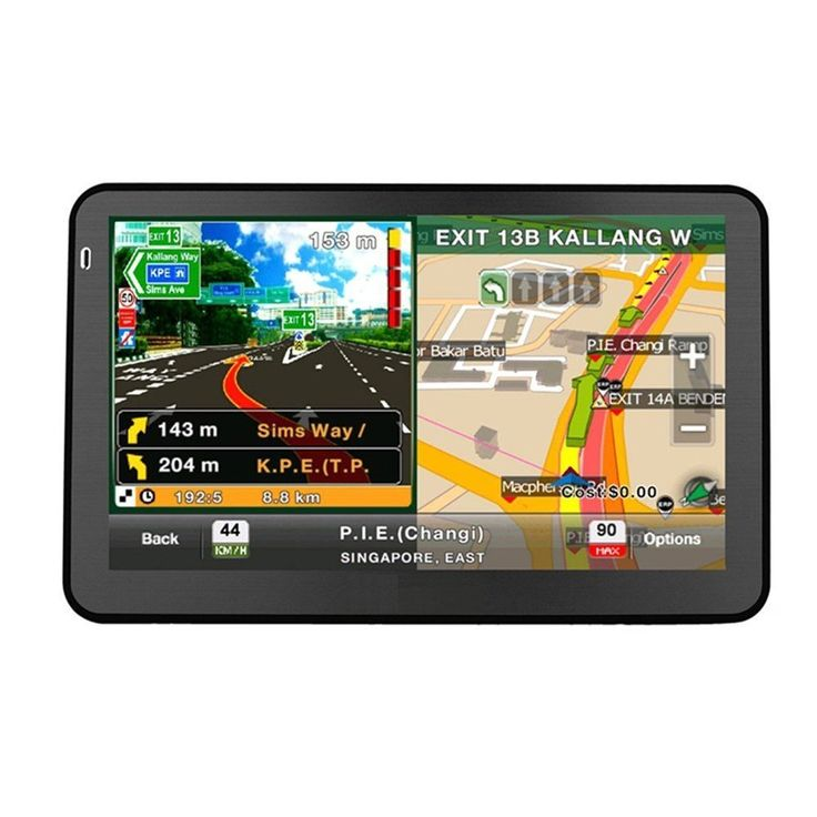 Quanmin 7''inch HD Screen Hand-held Car GPS Navigation DDR128RAM 8G Memory 800MHZ Fm Window CE 6.0 load With Newest USA Canada Mexico 3D Map