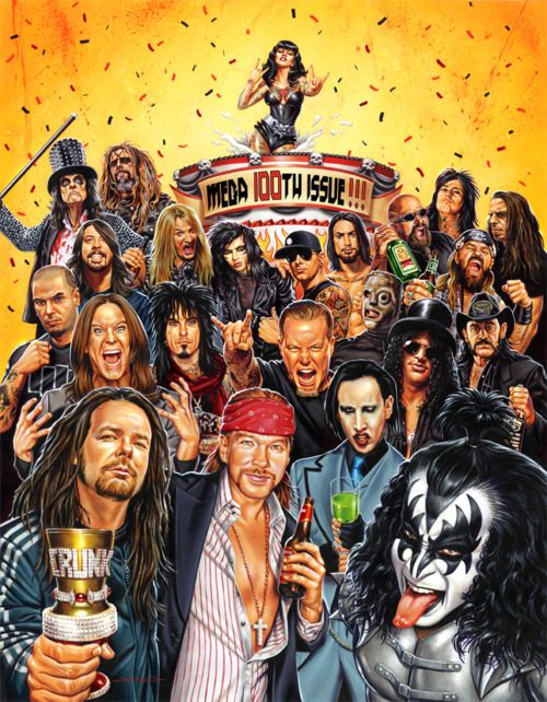 REVOLVER Magazine - Heavy Metal