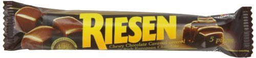 Riesen Chewy, Chocolate Caramel, 1.43 Ounce (Pack of 24) - http://bestchocolateshop.com/riesen-chewy-chocolate-caramel-1-43-ounce-pack-of-24/
