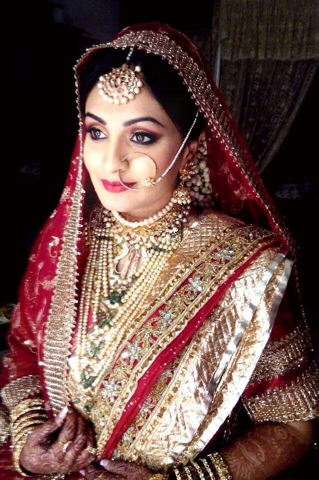 Sanya ansari hyderabadi bride