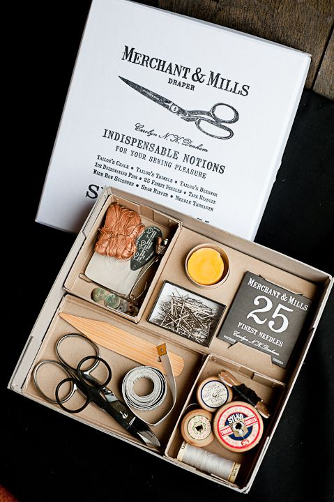 Selected Notions Box Set. Want. Just because it is beautiful. Would make a great gift for a new sewist.