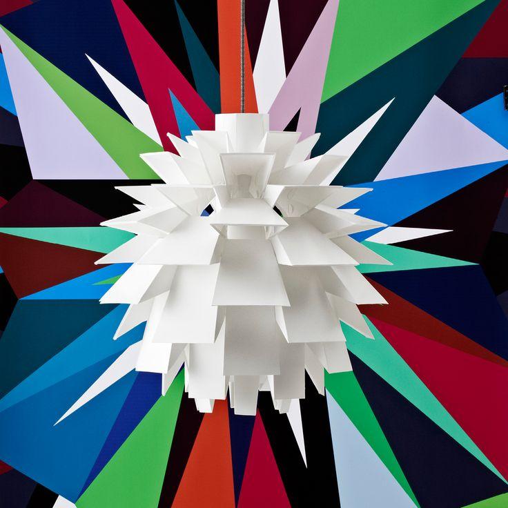 Norm 69 er hjørnestenen i Normann Copenhagen sortiment af lamper, er designet af Simon Karkov i 1969. Norm 69 giver et smukt lys, og er bl.a. velegnet over spisebordet. Lampen består af 69 dele, som let samles uden brug af værktøj eller lim. Serien omfatter pendler i fire størrelser.