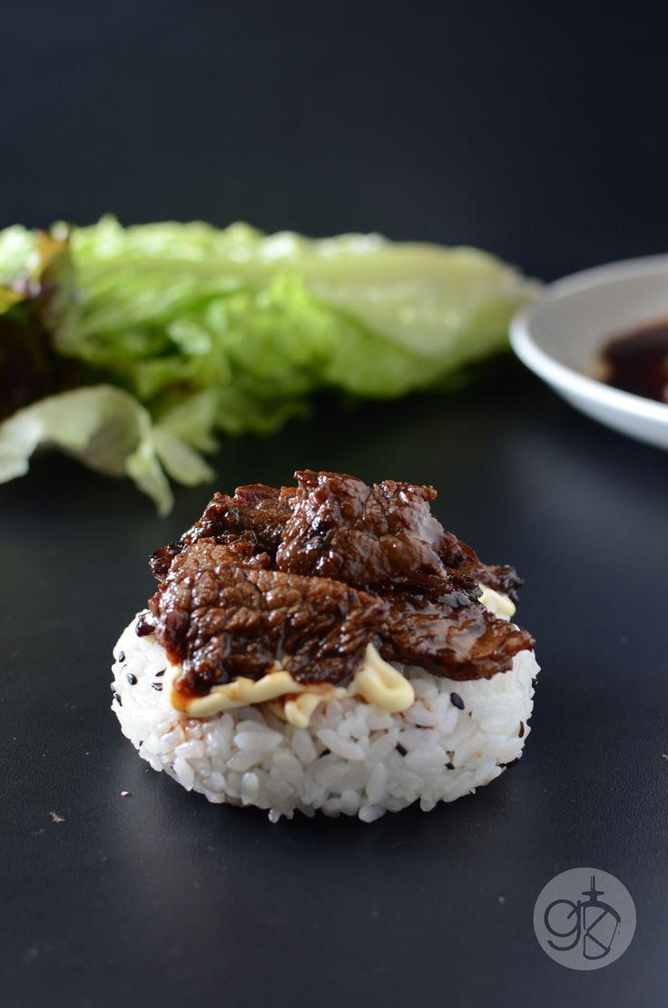 Teriyaki Steak Sushi Burger