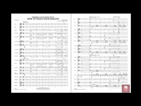 ▶ Highlights from How To Train Your Dragon by Powell/arr. Vinson - YouTube