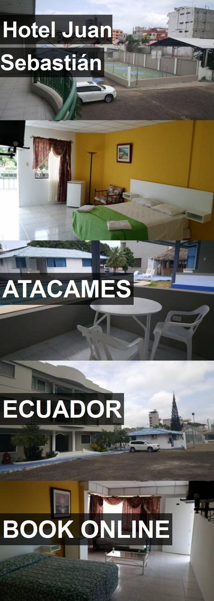 Hotel Juan Sebastián in Atacames, Ecuador. For more information, photos, reviews and best prices please follow the link. #Ecuador #Atacames #travel #vacation #hotel