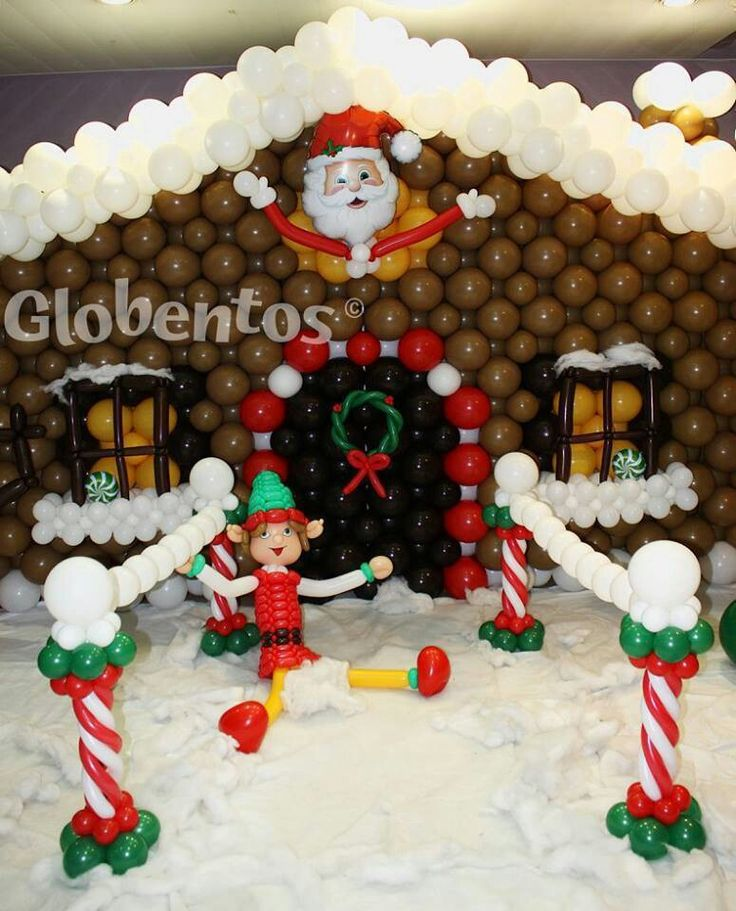 1000+ Images About Balloon Christmas, Winter, Decorations