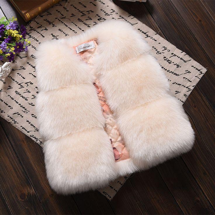 Baby Girl Faux Fur Vest   Price: $24.84   #babies #pregnancy #kids #mommy #child #love #momlife #babygirl #babyboy #babycute #pregnant #motherhood #photography #photoshoot