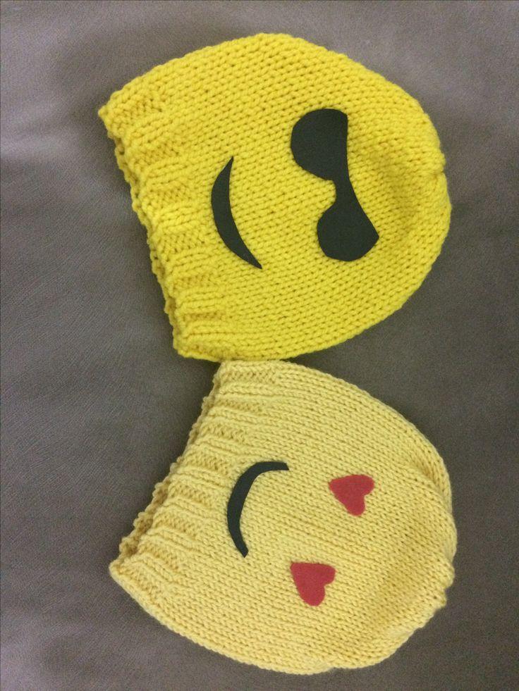 Emojili şapkalar