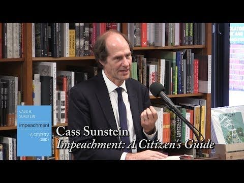 Emily's virtual rocket : (video) Cass Sunstein - Impeachment: A Citizen's G...
