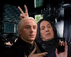 professor snape behind the scenes funny - Google Search