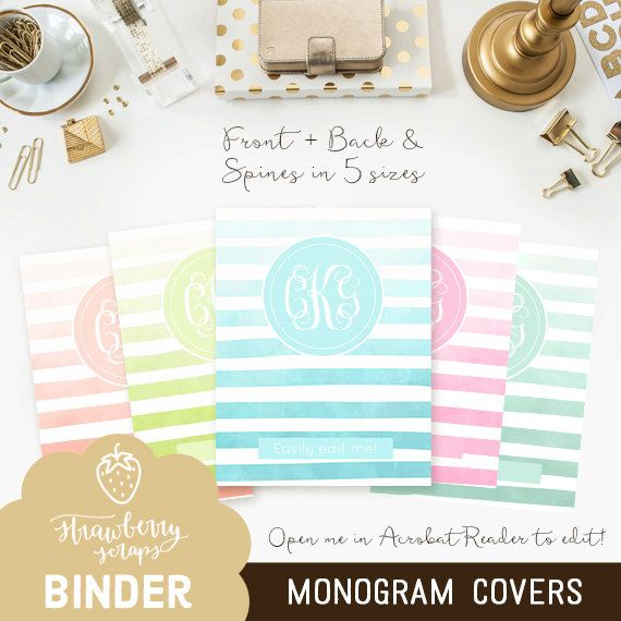1000  ideas about monogram binder on pinterest
