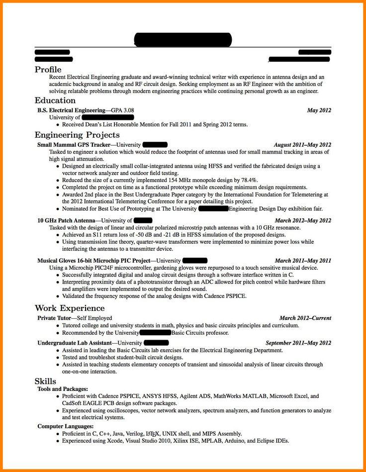 resume sample for fresh graduate fresh 5 cv template for