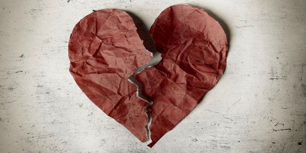 Liebe: Wenn das Herz gebrochen wurde