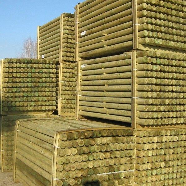 Pali torniti in legno PINO garanzia 15 anni
