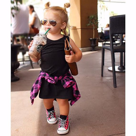 Girls Maxi Dress Baby Girl Toddler Dress by LittleFootClothingCo