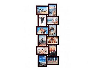 Henzo Holiday Gallery 12 sötétbarna műanyag képkeret