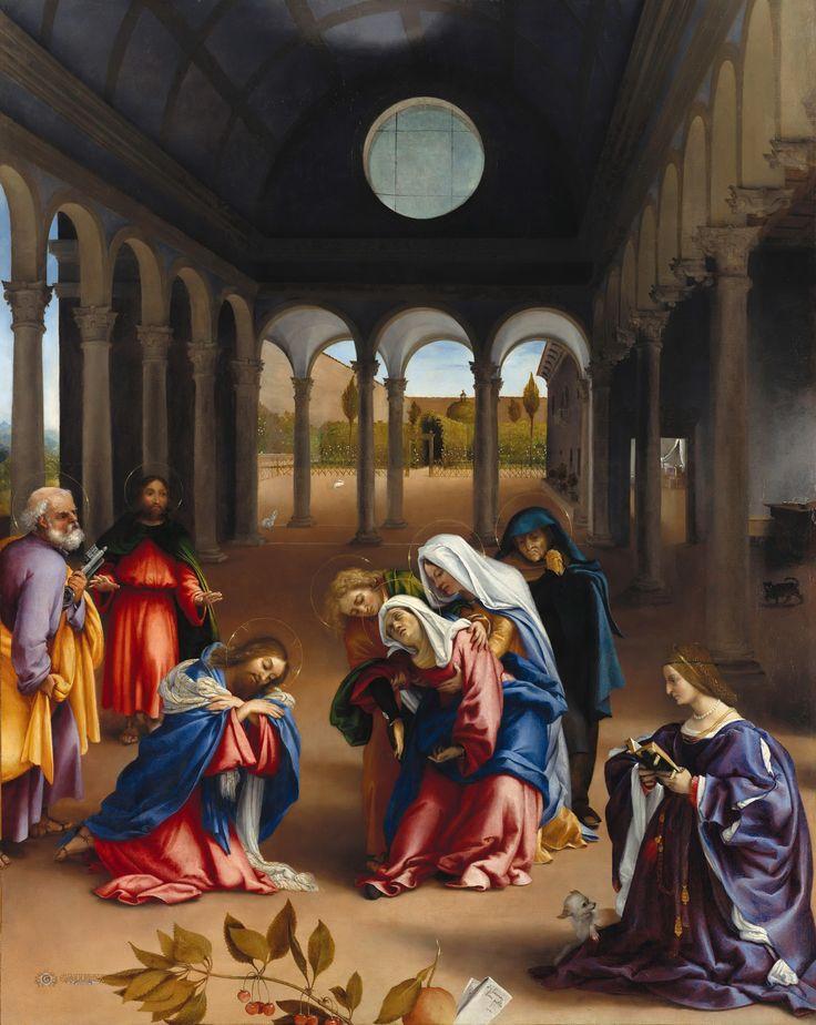 Lorenzo Lotto (c.1480-1557) - Christs farewell a mother
