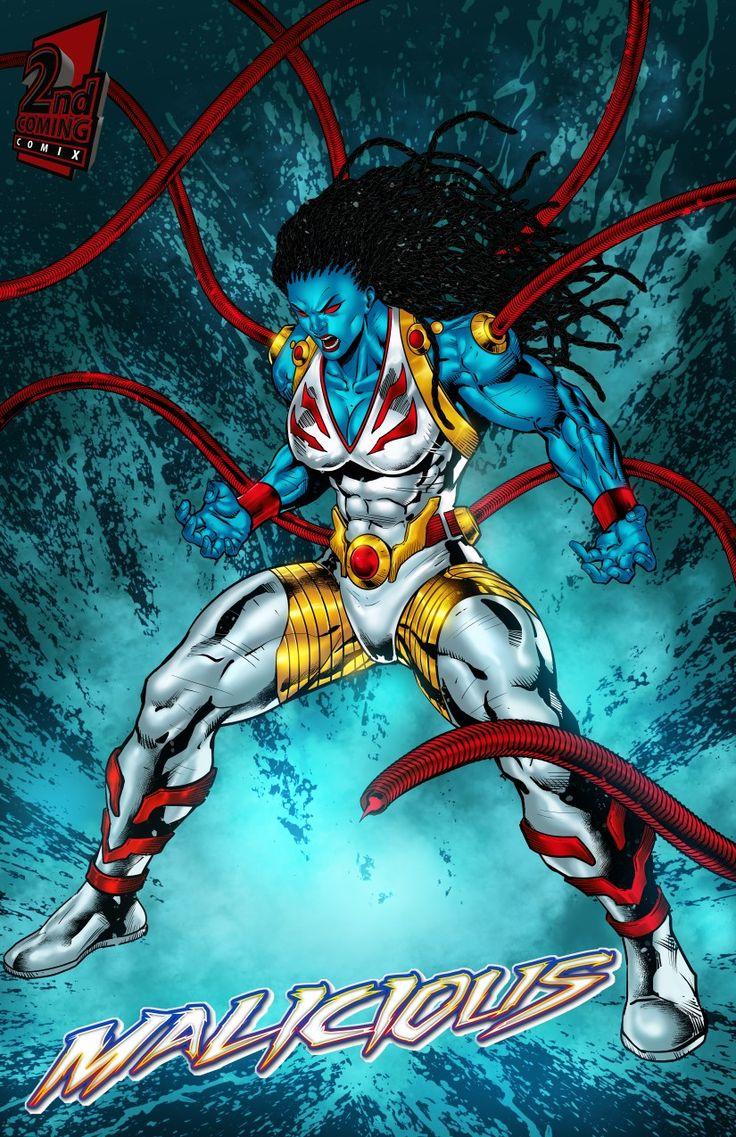 Malicious vasion enemy superhero art marvel