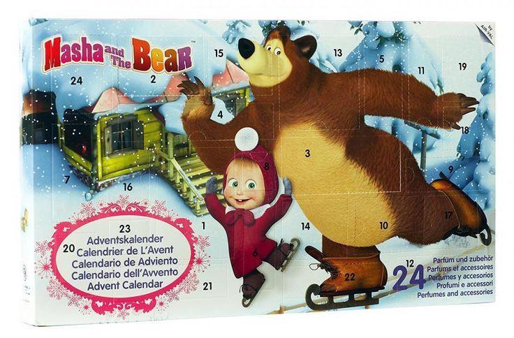 Mascha und der Bär Adventskalender #AirVal