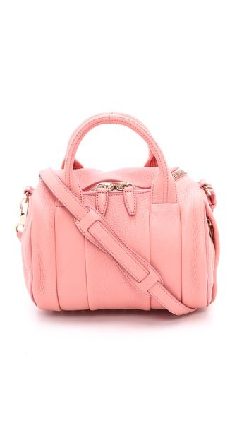 Alexander Wang Rockie Duffel Bag in Nectar with pale gold-tone hardware | 795