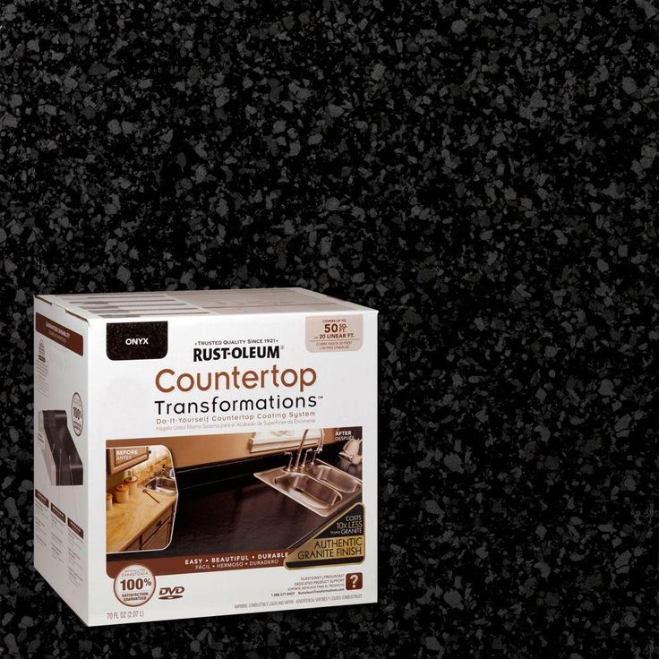 Kitchen Transformations: Rust-Oleum Transformations 70 Oz. Onyx Large Countertop